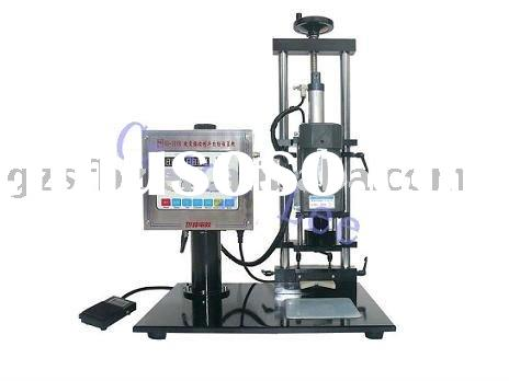 semi automatic bottle capper for small factories