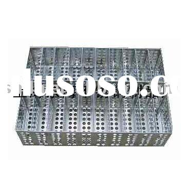stainless steel medical test tube rack