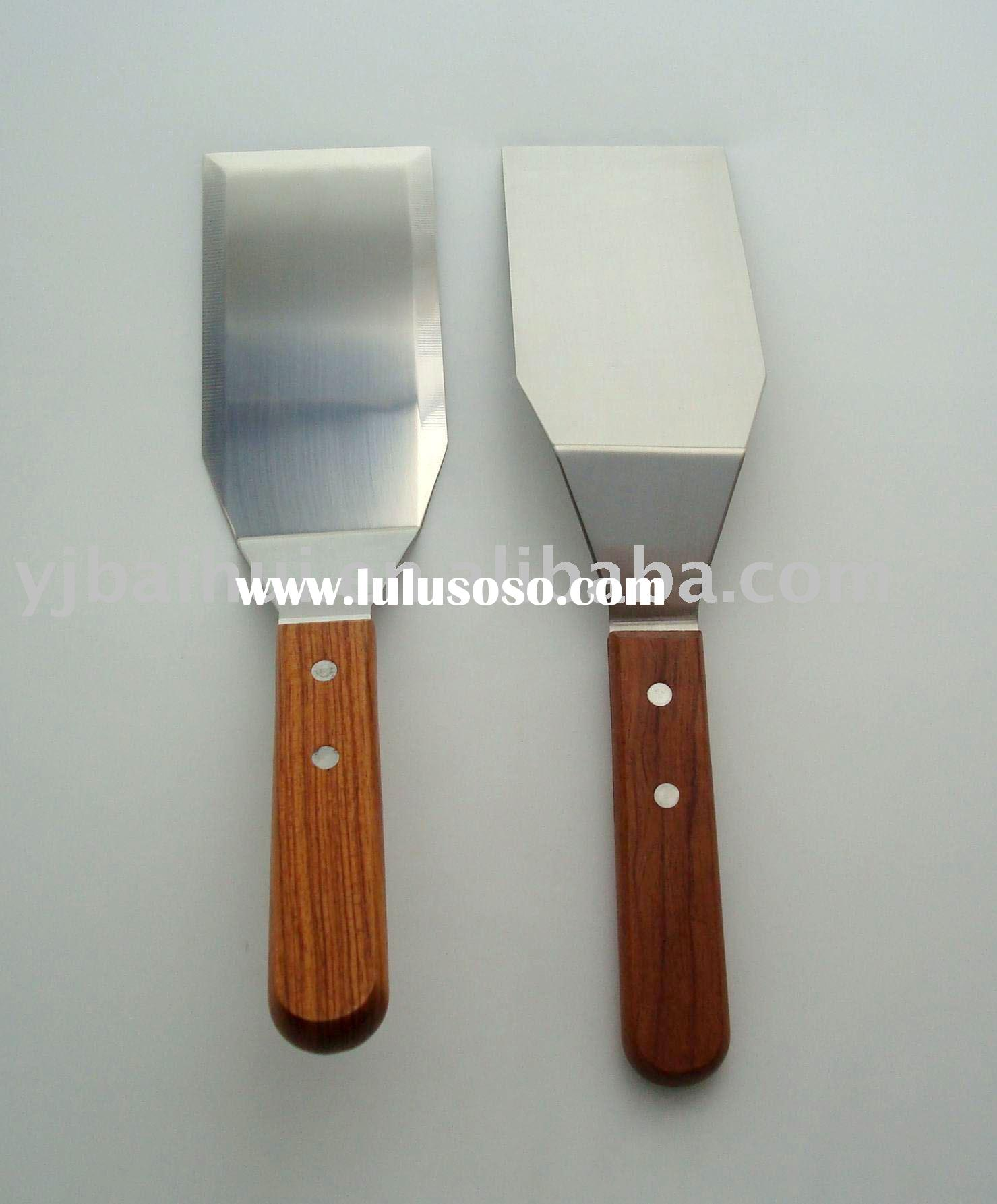 Metal Spatula With Wooden Handle Spatula With Wooden Handle
