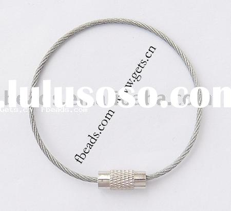 stainless steel wire for jewelry,with clasp
