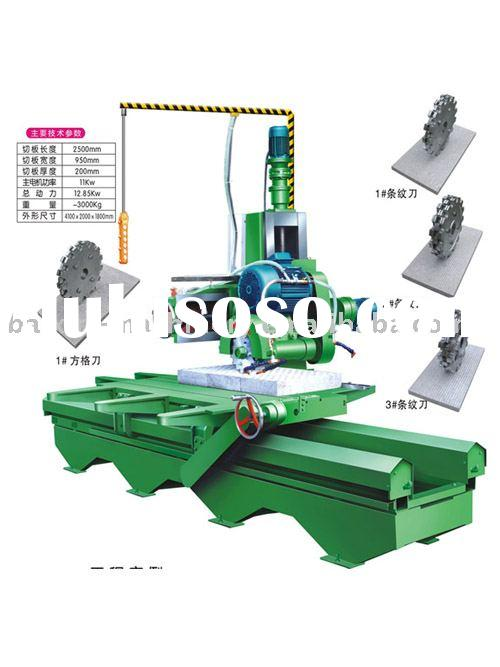 stone slab edge cutting machine