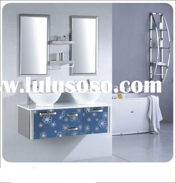 stylish stainless steel bathroom cabinet