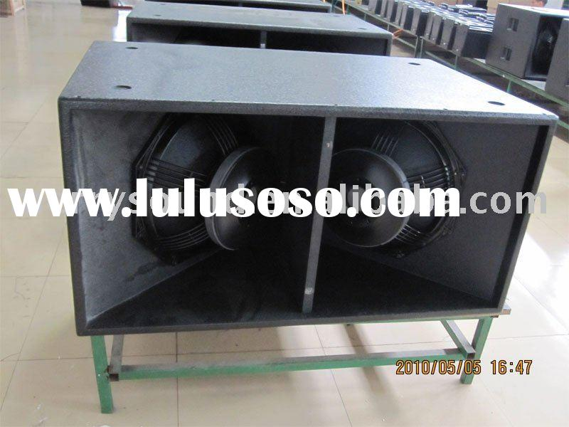 subwoofer (1600W), sound system, pro audiol line array subs (SUB-218)