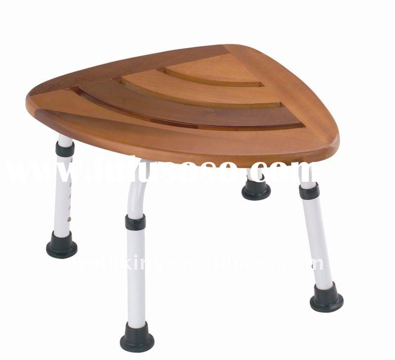 teak wood shower seat bath chair