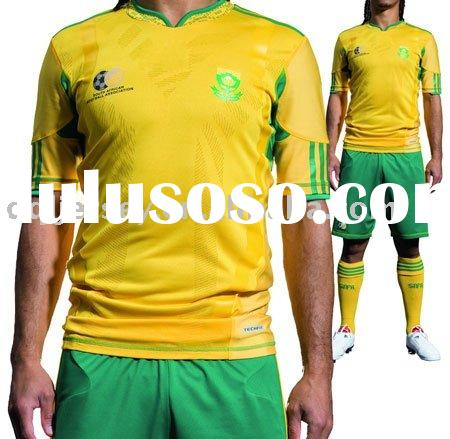 the latest 2010 world cup soccer jersey