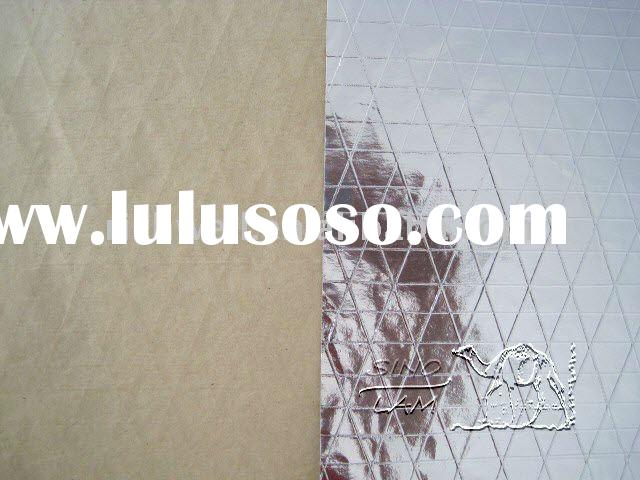 thin reinforced aluminum foil insulation backed kraft paper for roof insulation