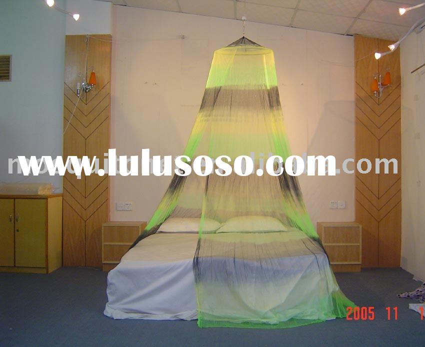 tie dye mosquito net/spring canopy/home textile product