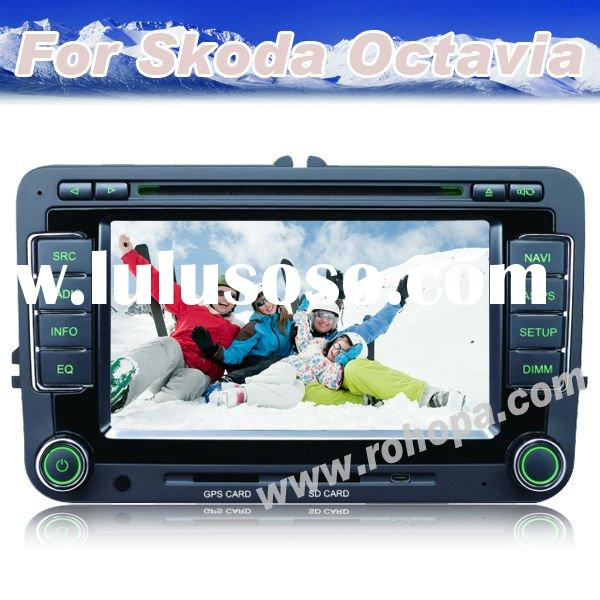 touch screen car dvd player for skoda Octavia II/Skoda Octavia III/Skoda Fabia