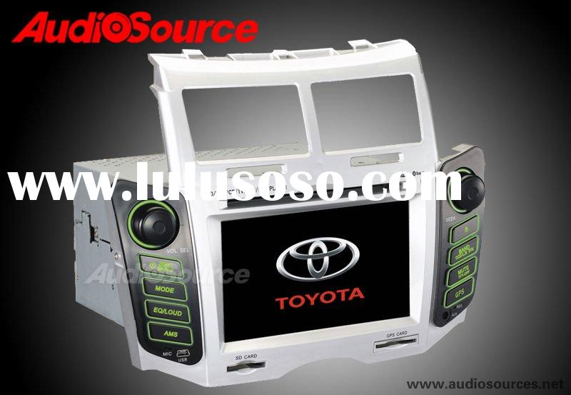 toyota Yaris car gps navigation system with dvd player