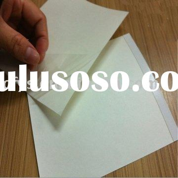transparent self adhesive labels,removable stickers