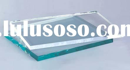 ultra clear float glass(low iron glass 2-25mm)