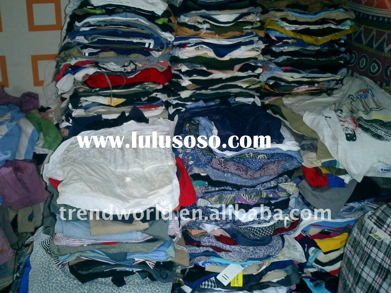 used summer tropical clothes for adults & children
