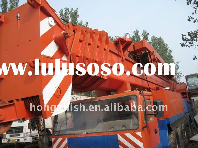 used truck cran of the 500tons DEMAG heavy machinery for sale
