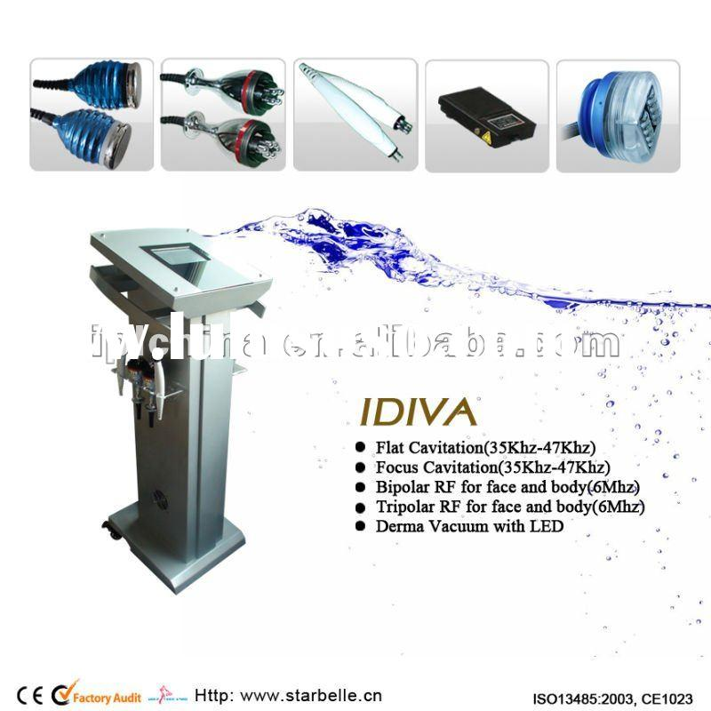vacuum cavitation weight loss body shaping radio frequency ultrasonic vacuum beauty equipment