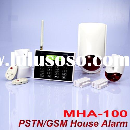 wireless gsm safe home alarm