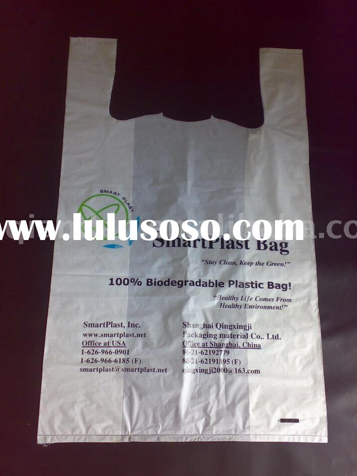100% Biodegradable Starch Plastic Bag