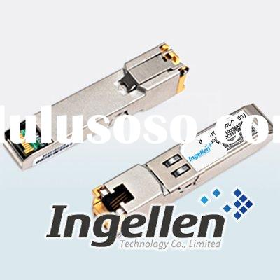 1000base on 10 100 1000base Tx Sfp For Category 5 Copper Wire  Rj 45 Connector