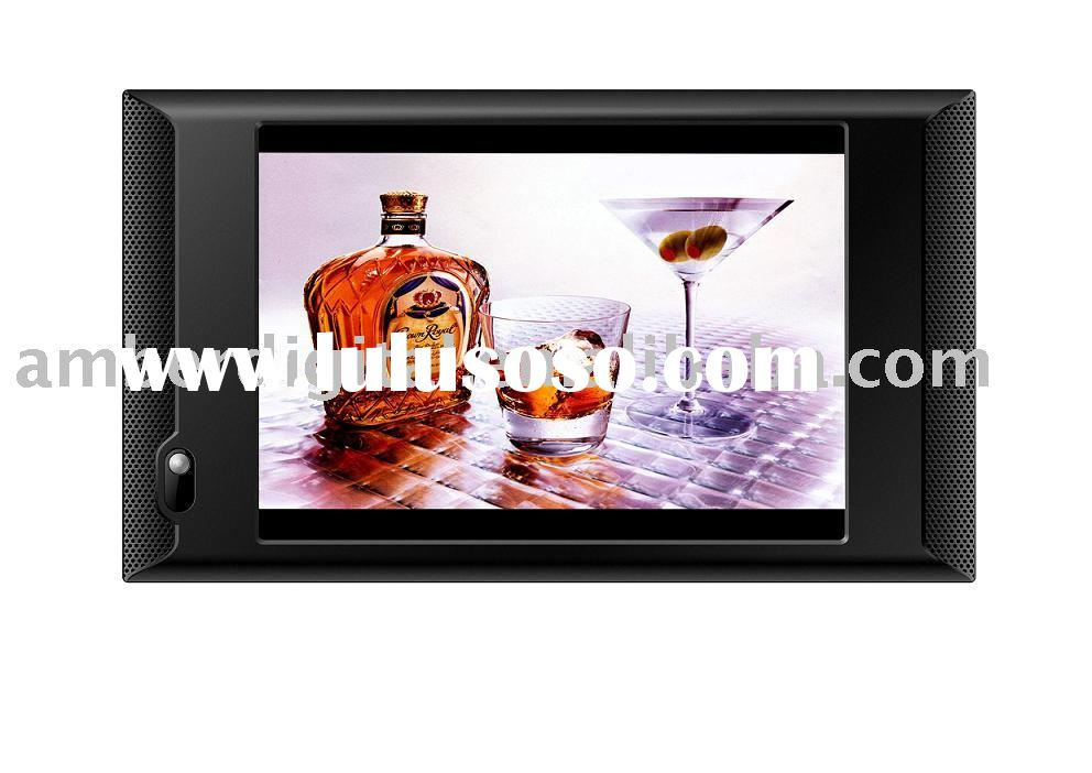 "10""Motion Activated Video Media Player, POS screen, LCD Advertising Players."