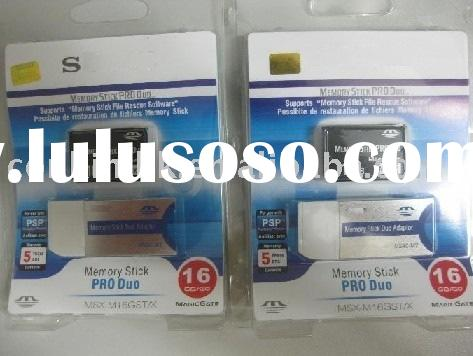 16GB Memory Stick Pro Duo/Memory Flash Card/Ms Pro Duo/Memory Card For SonyEricsson/Digital Camera C