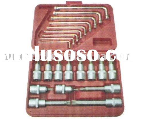 "22pcs 1/2"" DR. SOCKET BIT & STAR KEY WRENCH SET"