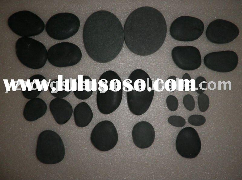 30pcs natural basalt stone for therapy