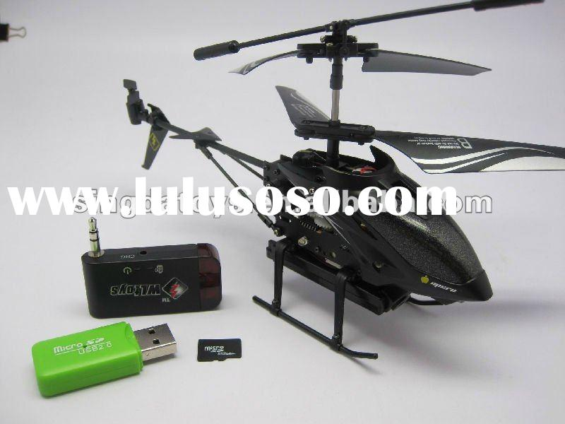 3.5CH iPHONE CONTROLLED RC HELICOPTER WITH CAMERA