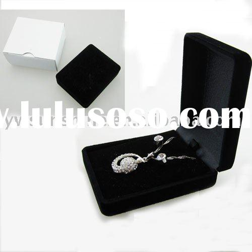 6*8 black velvet gift or jewelry box