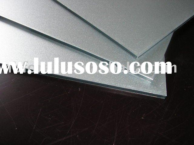 Aluminum composite panel board plastic fireproof ceiling exterior interior wall PVDF T bar grid prof