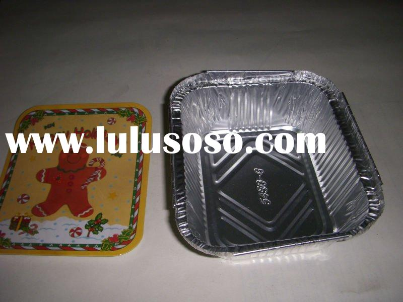 Aluminum foil containers For food