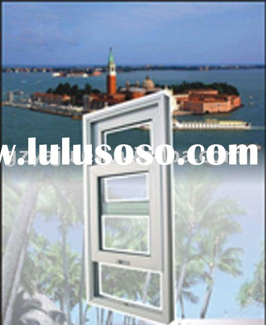 Aluminum vertical sliding window