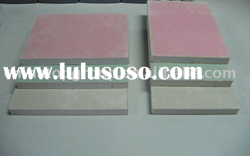 Antifire Gypsum Board ,Paper faced gypsum board ,gypsum ceiling ,panels