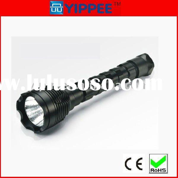 Army rechargeable led flashlight high power cree led torch