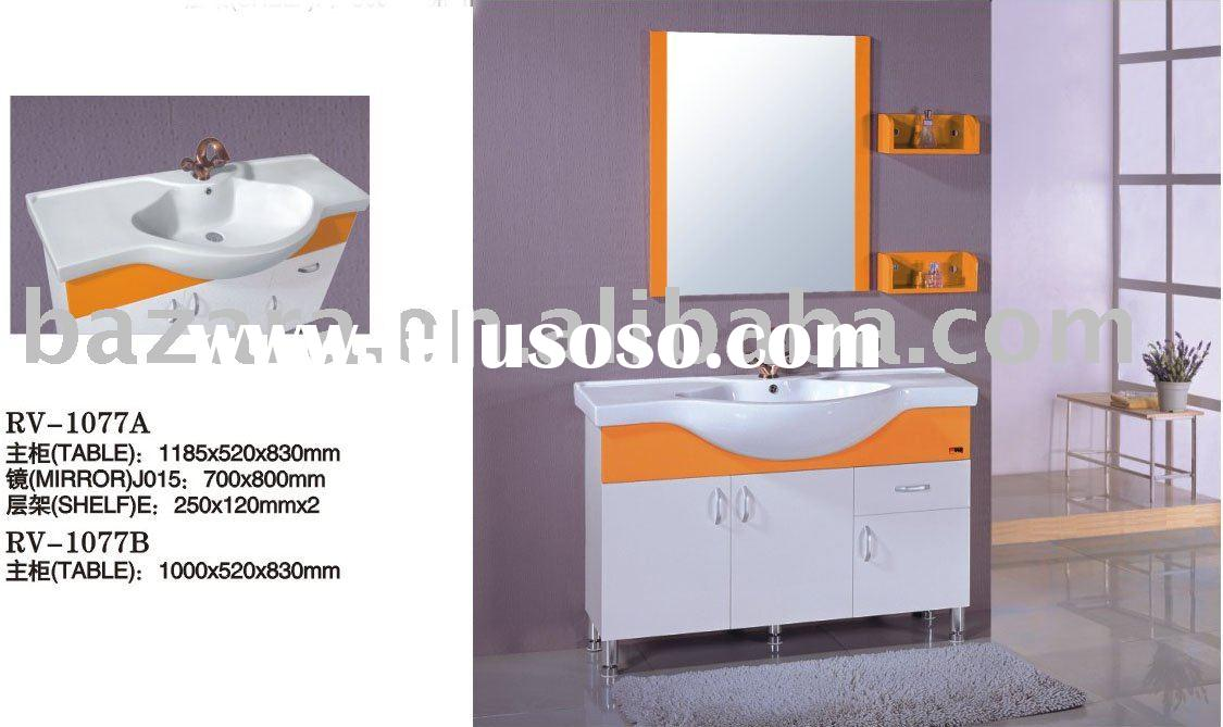 Bathroom furniture ,PVC bathroom cabinet,pvc sanitary ware, pvc bathroom furniture,bathroom vanity