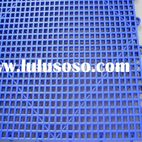 Interlocking Plastic Floor Tiles Interlocking Plastic