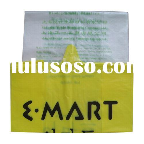 Biodegradable Starch Plastic Bag/biodegradable bag/environment friend bag