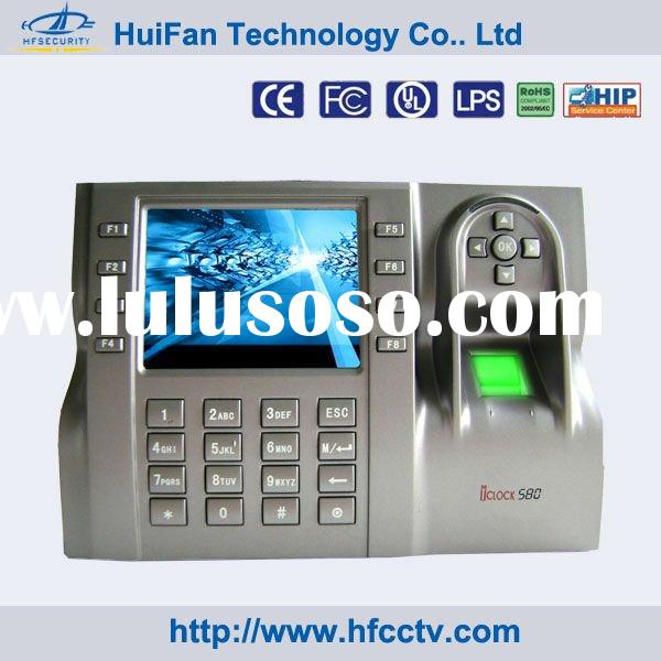 Biometric Time Clock for Office Attendance System HF-iclock 580
