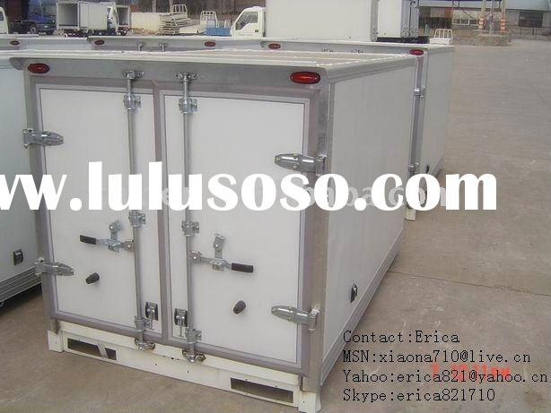 Box trailer, CKD Truck Body Panels, cold room box van truck body,refrigerator truck, Dry cargo box p