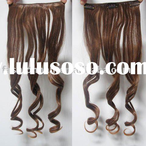 CC-002 Heat Resistant Synthetic Clip On Hair Extension