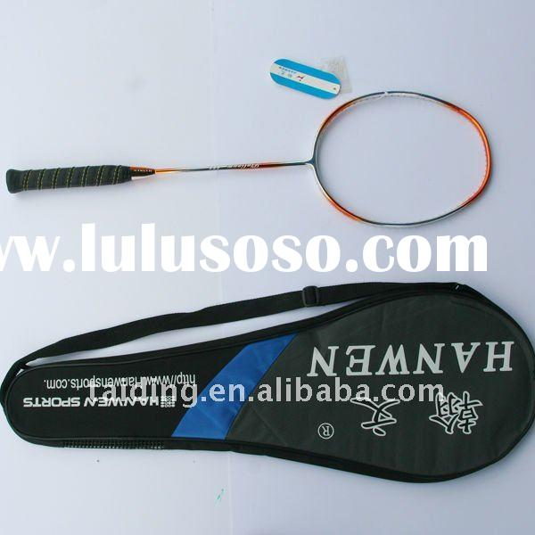 Chinese Carbon badminton racket for professional player
