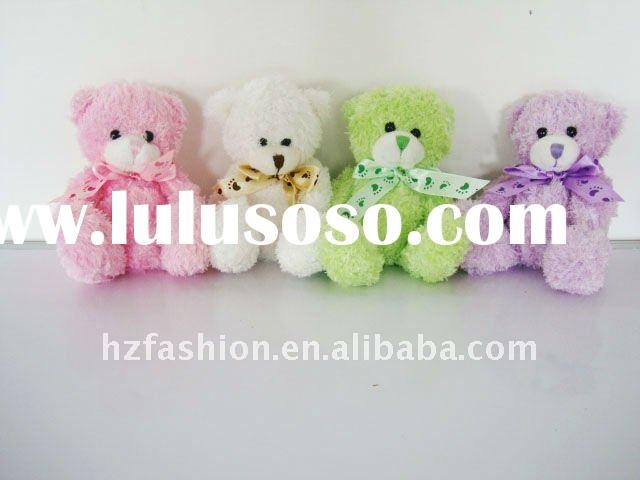 Fashion small plush teddy bear with different colors