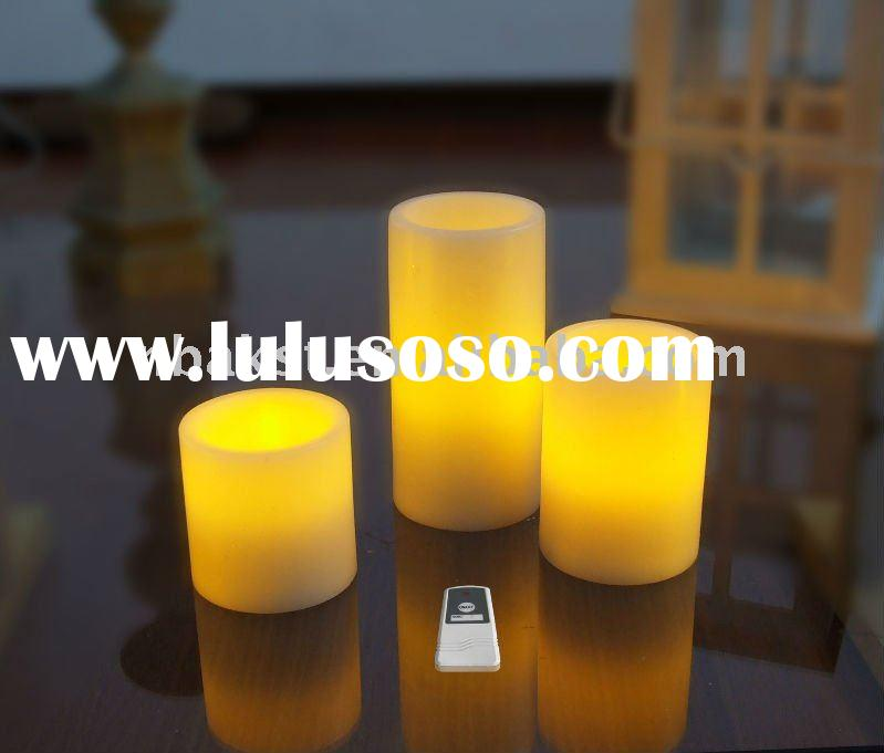 Flameless Remote control LED candle