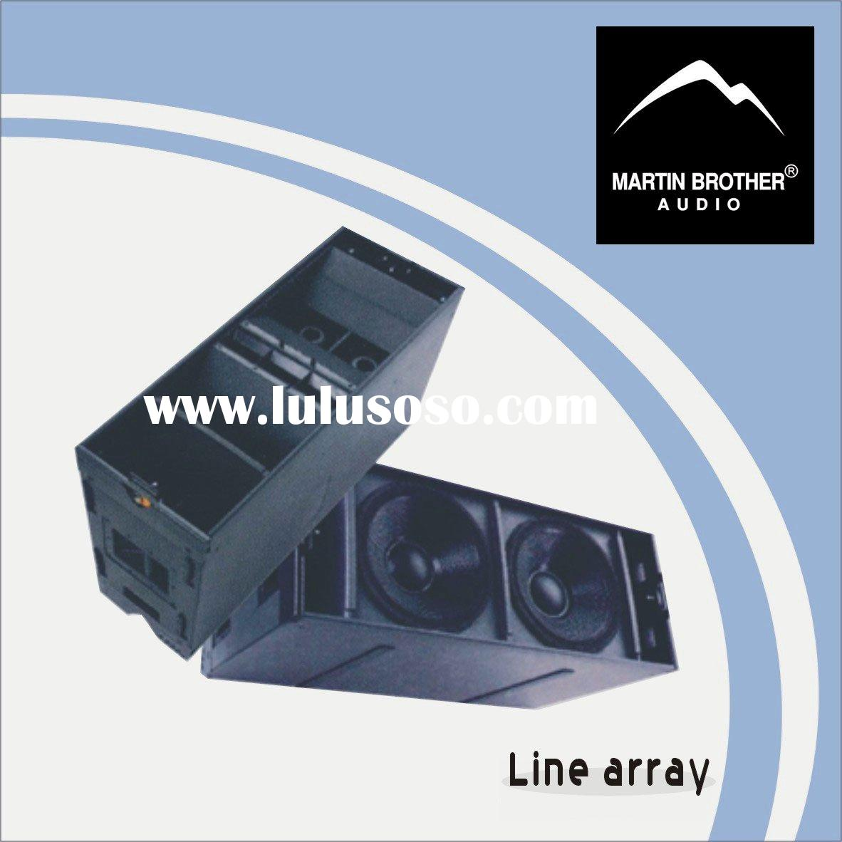 Line array systems pro audio / loudspeaker