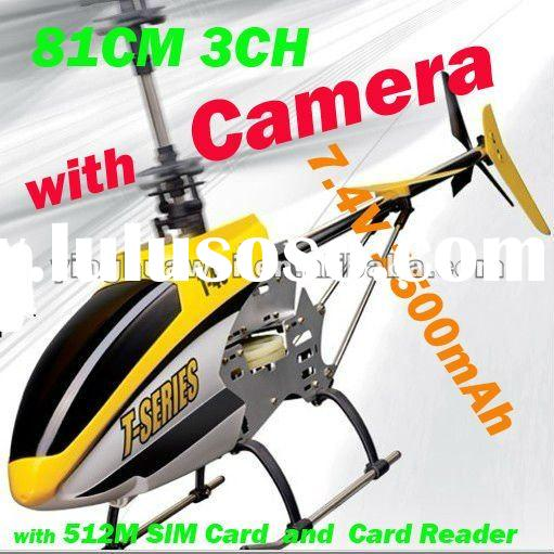 MJX T40 T640 T40c RC Remote Control Helicopter 2.4G 3CH 3 Channels 81cm Gyroscope, Camera, 512M SIM