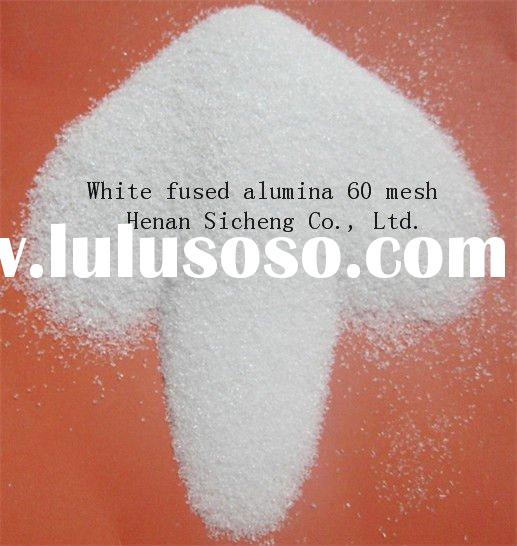 Manufacturer white aluminium oxide grain popular in Europe