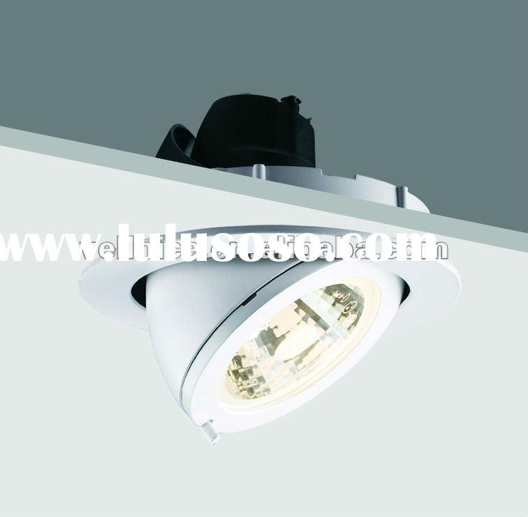 Metal halide recessed spot light 35w 70w 150w G8.5 spotlight