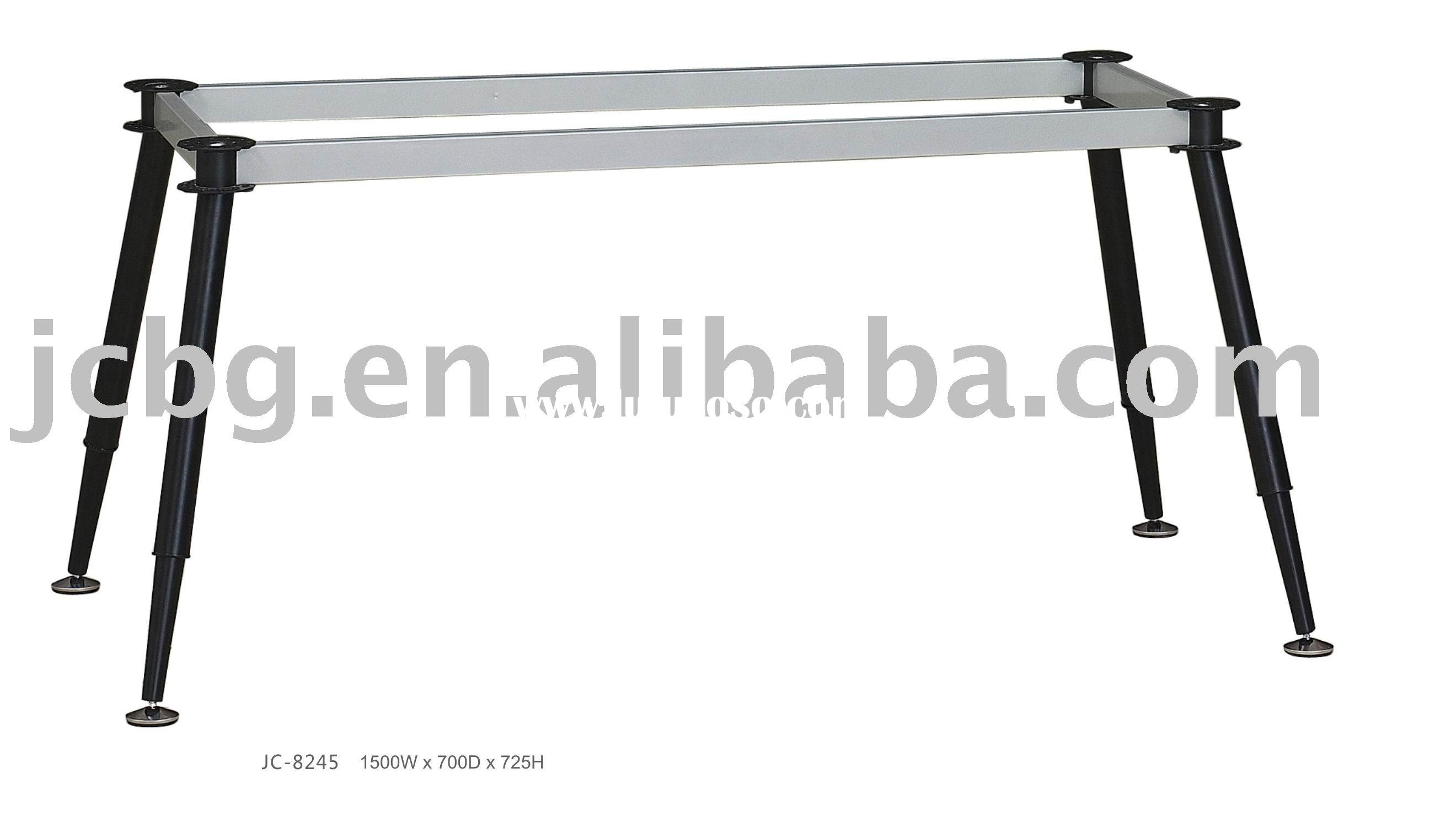 metal table support table base steel table frame adjustable height