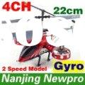 New 22CM 4CH Metal Gyro Mini RC Helicopter,radio remote control Airplane with USB charger RC Toy AVA
