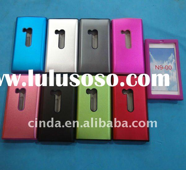 Newest Aluminium Metal Silicon Cover Hard Case for Nokia N9 N9-00