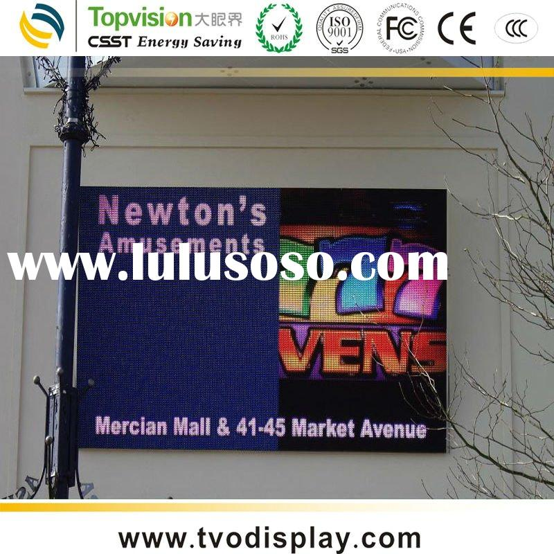 Outdoor LED Advertising Billboard Display Pixel pitch 25