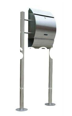 Outdoor stainless steel letter box ,residential mailbox,apartment postbox